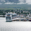 View of town, Akureyri (Iceland) — Foto Stock