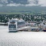 View of town, Akureyri (Iceland) — Stock Photo