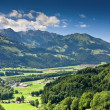 Rural landscape, Gruyere (Switzerland) — Stock Photo