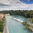 Panoramic views of Bern (Switzerland) - Stock Photo