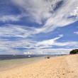 Indonesian sea and beach landscape — Stock Photo