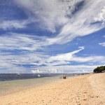 Indonesian sea and beach landscape — Stock Photo