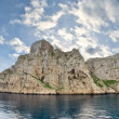 Scenic view of Dragonera Island (Spain) - Stock Photo