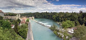 Panoramic view of Bern (Switzerland) — Stock Photo