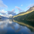 View of Storfjord (Norway) — Stock Photo
