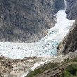 Glacier at Norwegian mountains — Stock Photo