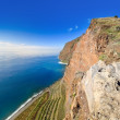 View of Cabo Girao cliff — Foto Stock