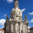 Frauenkirche cathedral, Dresden (Germany) - Stock Photo