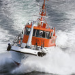 Norwegian pilot boat at sea — Stock Photo