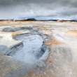Volcanic landscape at Iceland — Stock Photo