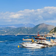 Summer day at the Bay of Naples, Capri island (Italy) — Stock Photo