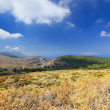 Mountain landscape, Rhodes Island (Greece) — Stock Photo