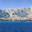Panoramic view of the city, Naples (Italy) — Stock Photo
