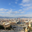 View of the city, Barcelona (Spain) — Stock Photo