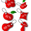 Vector de stock : Discount labels