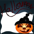 Halloween Pumpkin — Stockvector #32345201