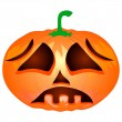 Halloween Pumpkin — Vector de stock #32357193
