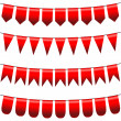Bunting and garland set — Stock Vector #39096125