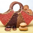 Beach Basket — Stock Photo