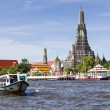 Stock Photo: Landscape of Wat Arun Buddhist religious places of importance to