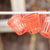 Empty plastic basket  — Stock Photo