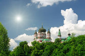 St. Panteleimon orthodox church in Feofania (Ukraine) — Stock Photo