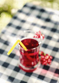 Home-cooked cherry compote — Stock Photo