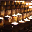 Stock Video: Candles