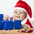 Christmas Baby - Stock Photo