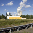 Lignite-fired power plant — Stockfoto