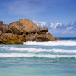 Grand Anse - Seychelles — Stock Photo