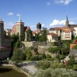 Panorama of Bautzen (Budysin) in Upper Lusatia — Stock Photo