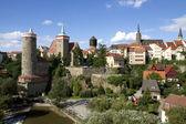 Panorama of Bautzen (Budysin) in Upper Lusatia — Stock Photo