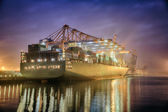 Container terminal — Stock Photo