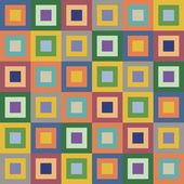 Retro styled seamless pattern — Stock Vector