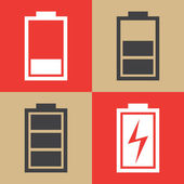 Batarya kutsal kişilerin resmi — Stok Vektör