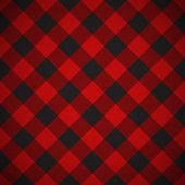 Lumberjack plaid pattern tilted — Stock Vector