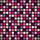 Pink stained-glass window pattern — ストックベクタ