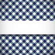 Stock Vector: Tilted gingham plaid pattern