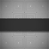 Monochrome seamless pattern — Stock Vector