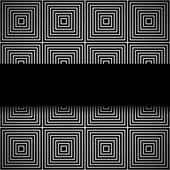 Monochrome seamless pattern — Stock Vector