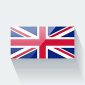 Flag of the UK — Vector de stock