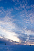 The morning sky over the sea — Stock Photo