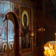 Divine service in an orthodox temple — Stock Photo #36101629
