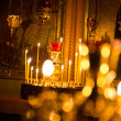 Divine service in an orthodox temple — Stock Photo #36102147