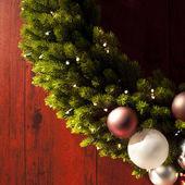 Christmas krans — Stockfoto