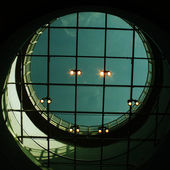 Round window — Stock Photo