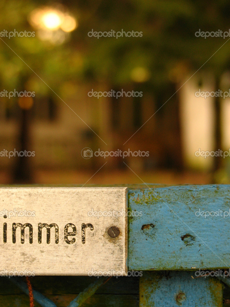 TrädgÃ¥rd staket — stockfotografi © cw design #19225591