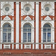 ancient building facade — Stock Photo