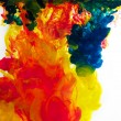 Inks in water — Stock Photo